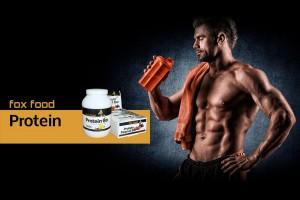 In unserem Shop bekommen Sie ausgewählte Protein Produkte für Ihre Sporternährung - Fox Food Supplement
