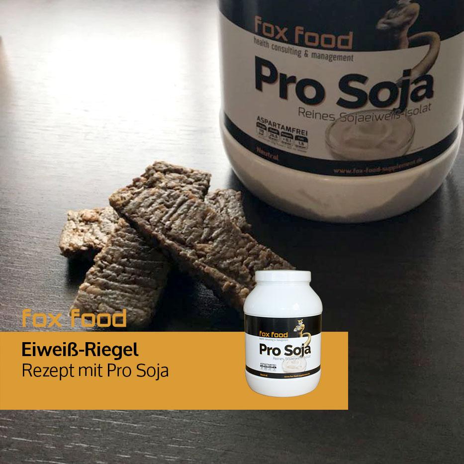Eiweiß-Riegel mit Pro Soja